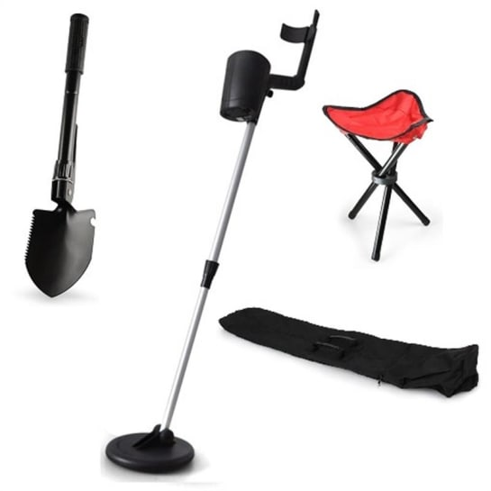 "Klarstein Set Metal detector oro ""Basic Red"""