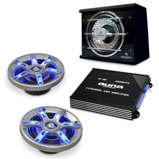 BeatPilot FX-211 Car-Audio-Set 4000W