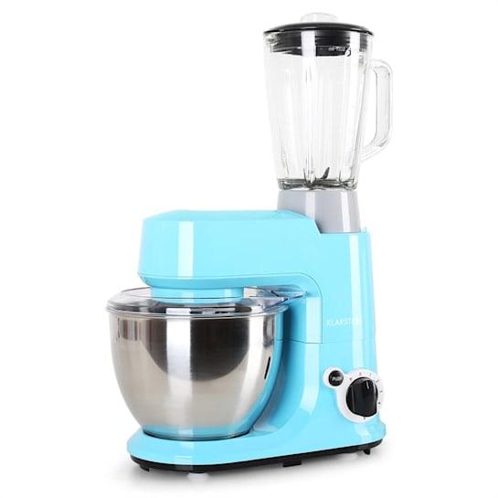 Carina Azzura Set 800W Stand Mixer + 1.5L Blender Blue