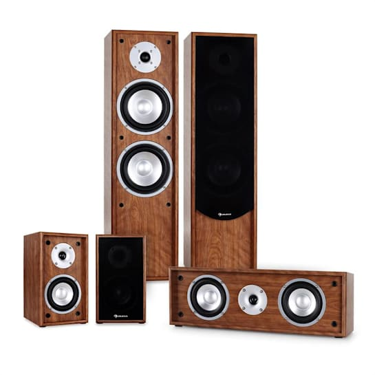 Linie-300-WN Equipo de sonido home cinema 5.0 265W RMS