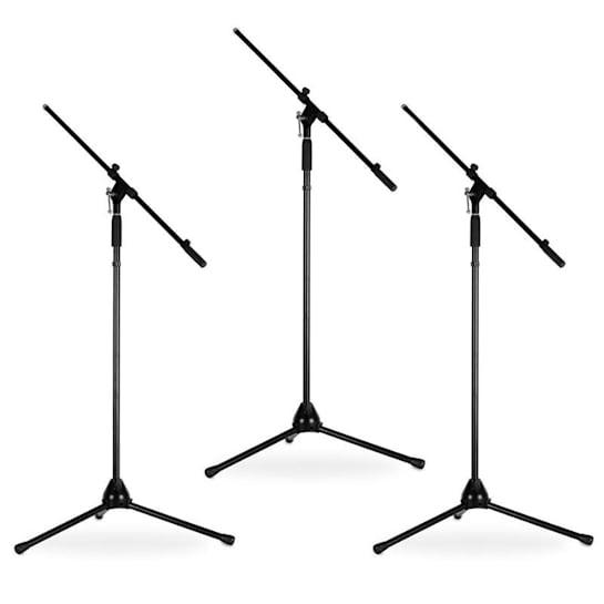 Malone ST-12-MS set van 3 microfoonstandaards