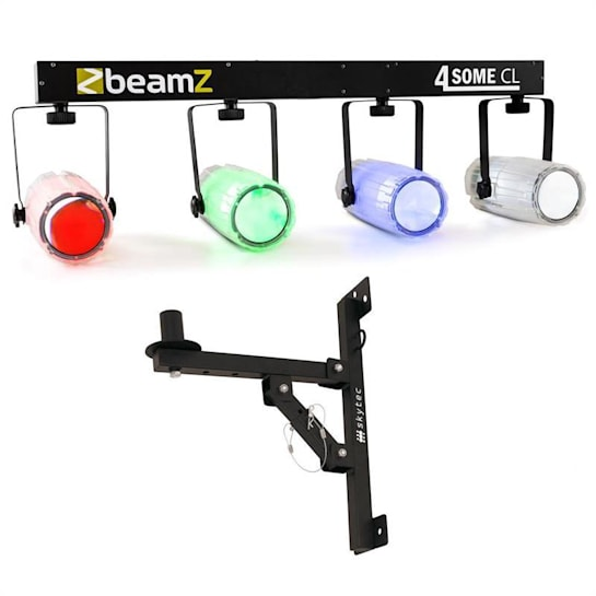 Beamz Light Set 4-Some II Effetto Luce LED Set 5 Pezzi