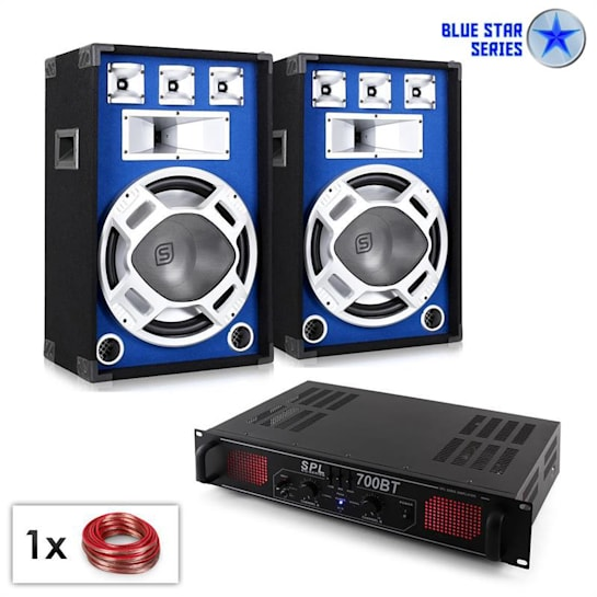 "PA set Blue Star Series ""Basscore bluetooth"" 1000 W"
