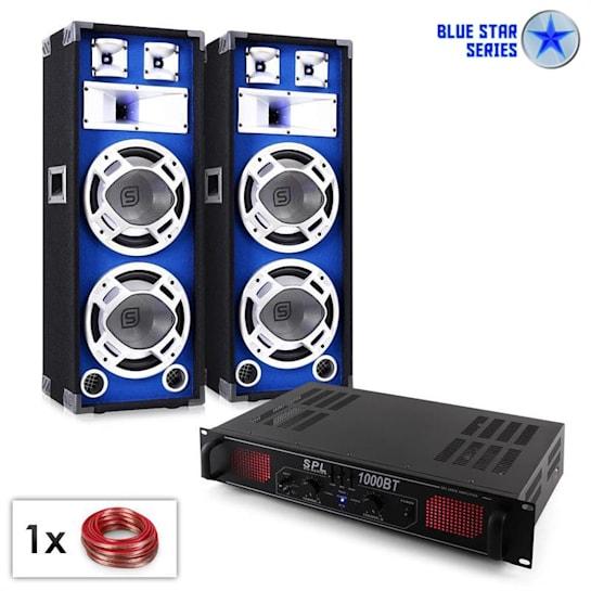 "PA Set Blue Star Series ""Basssound Bluetooth"" 1000W"