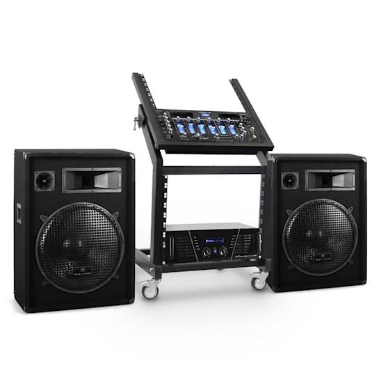 DJ reproduktorový set Rack Star série Venus Bounce 200 lidí