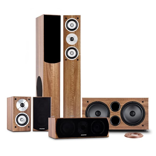 Linie-501-WN, 600 W, 5.1 domáce kino, zvukový systém, RMS