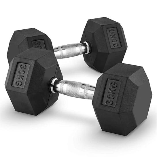 Hexbell Dumbbell korthantel par 30kg