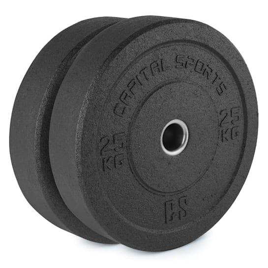 Renit Hi Temp Dischi Pesi 50,4 mm Alluminio Gomma 2x25kg