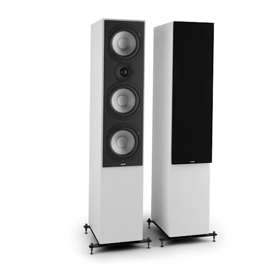 Reference 801 Three-Way Speaker Pair White incl. Cover Black