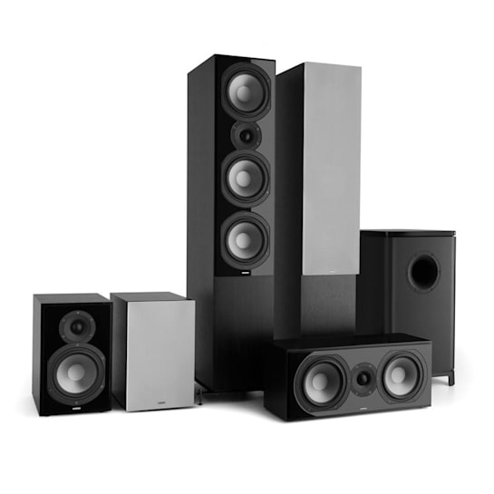 Reference 851 5.1 Sound System Black incl. Cover Silver