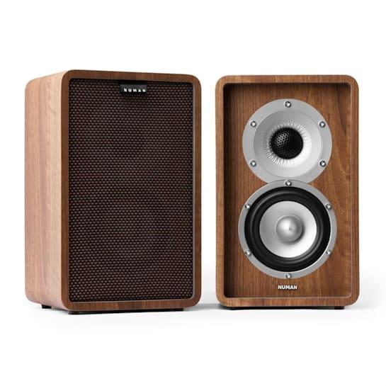 Retrospective 1979 S Two-Way Speaker Walnut incl. Cover Black-Brown