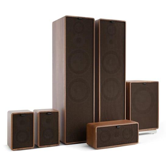 Retrospective 1977 MKII - Soundsystem 5.1 Noce Cover Nera-Marrone