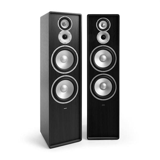 RETROSPECTIVE 1977 MKII - Three-Way Standing Speaker Pair black