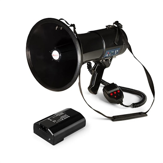 80W Megaphone MEGA080USB Black Plus Battery
