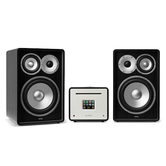 Unison Retrospective 1978 MKII - Receiver | Amplifier | Boxes Black