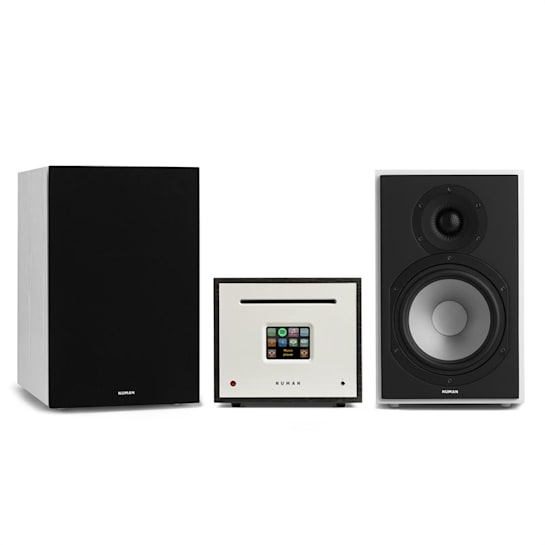 Unison Reference 802 Edition – All-in-One Stereoanlage: CD-Player, Internetradio, Receiver & Verstärker | inkl. 2 Boxen + Cover