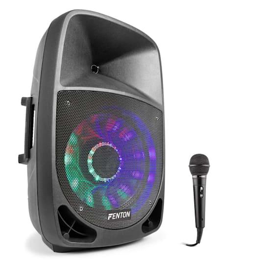 FT1200A, aktivní reproduktor, 250 W, bluetooth + mikrofon, černý