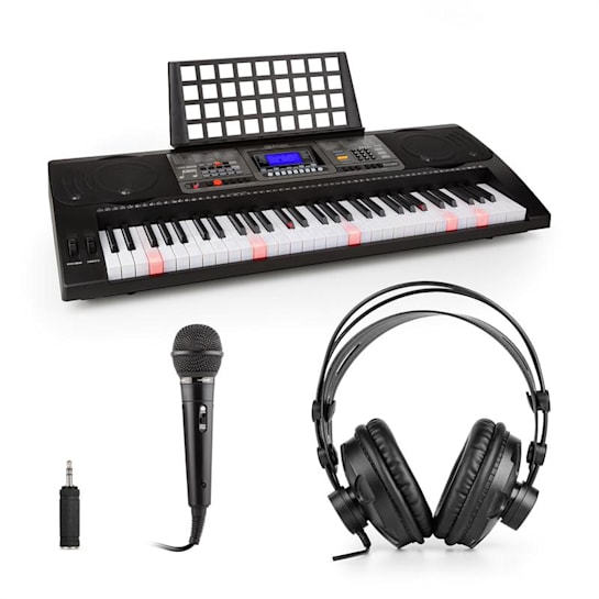 Etude 450 Set Tastiera per Apprendimento Cuffie Microfono Adattatore