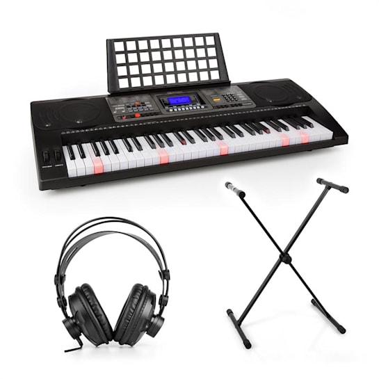 Etude 450, set cvičný elektronický klavír, studiové sluchátka, stojan na klávesy
