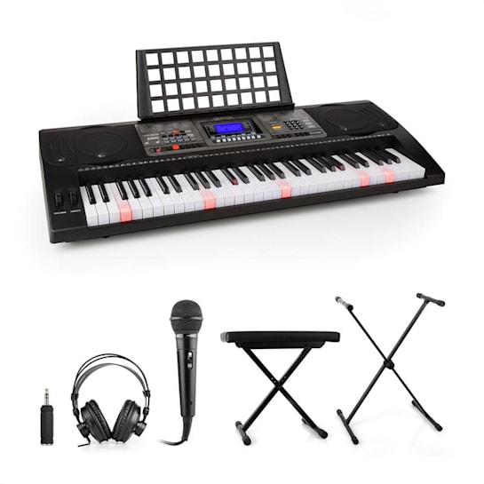 Etude 450 Set Tastiera Cuffie Microfono Stativo Panca Adattatore