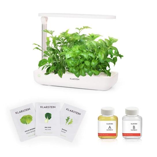 GrowIt Flex Starter Kit Salad 9 Plants 18W LED 2L Salad Seeds Nutrient Solution