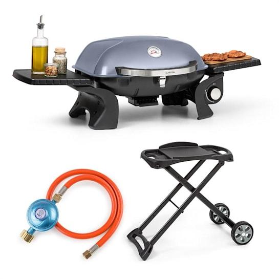 Parforce One plynový gril + grilovací stôl + plynová hadica