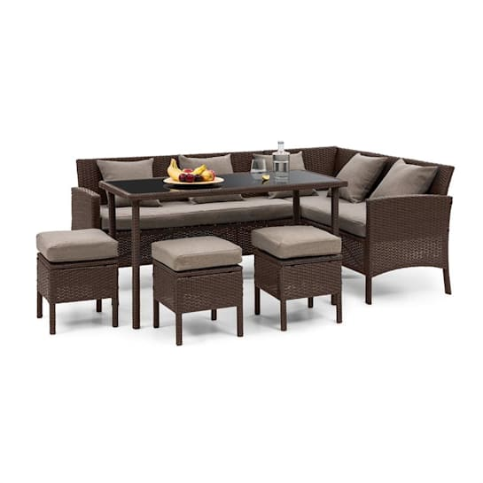 Titania Dining Lounge Garden Set