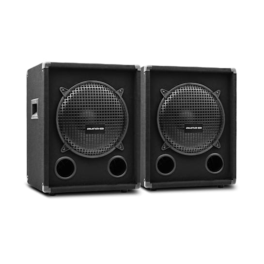 "PW-1012-SUB MKII passives PA-Tieftöner-Paar 12"" (30,5cm) Subwoofer 400W RMS / 800 Wmax. Bassreflex"