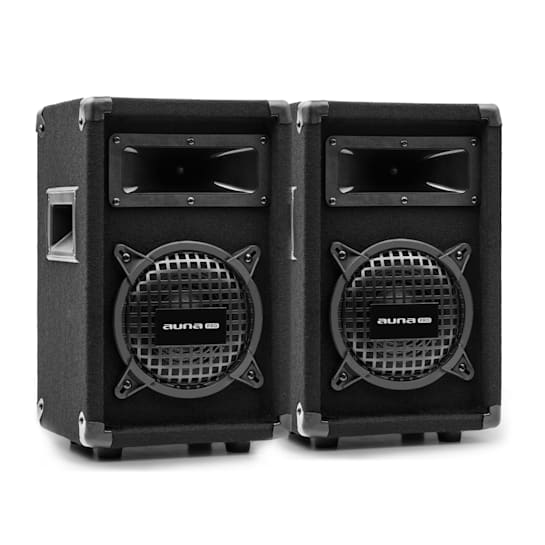 """PW-062 MKII, Passive PA 2-Way Speaker Pair, 6.5"""" Subwoofer, 125W"""