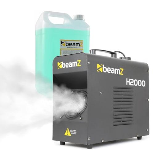 H2000, savukone, sis. savunesteen, 1700 W, DMX, LED-näyttö