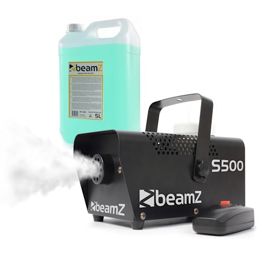 S500 Nebelmaschine mit Nebelfluid 500W 50m³/min