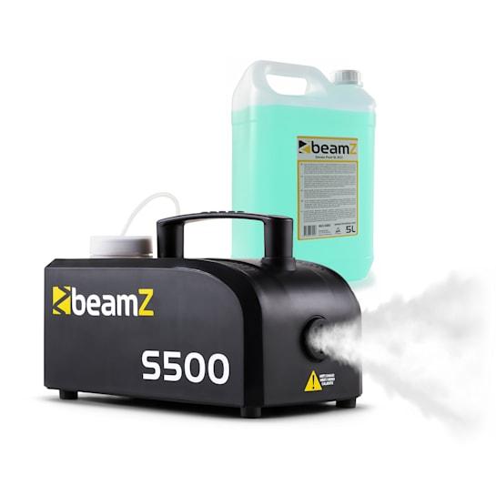 S500 New Edition Nebelmaschine inkl. Nebelfluid 500W 50 m³/min