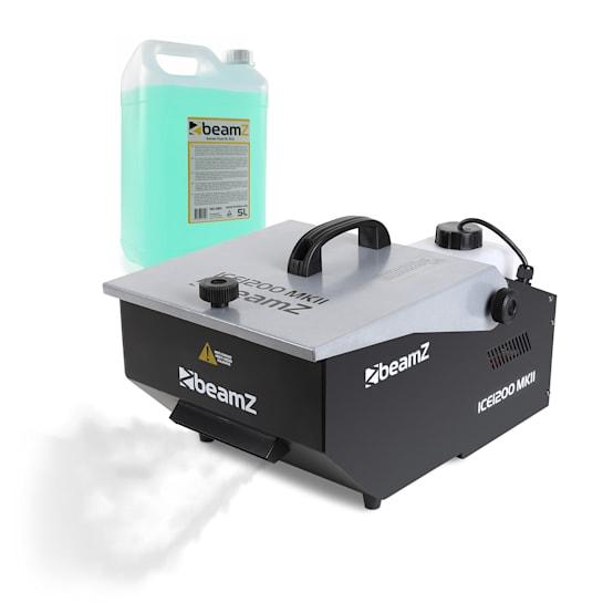 Led 1200 MKII, stroj za ledenu maglu, uključujući tekućinu za maglu, 0,5 l