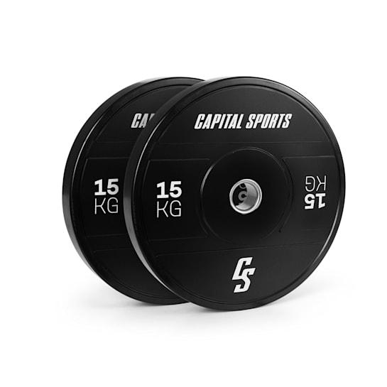 Sports Elongate 2020 Bumper Plates 2 x 15 kg Hartgummi 50,4mm