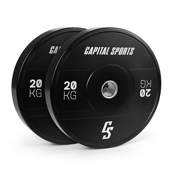 Sports Elongate 2020 Bumper Plates 2 x 20 kg Hartgummi 50,4mm