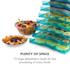 Fruit Jerky 10 Dörrautomat Dehydrator Trockner 800W 10 Etagen schwarz