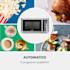 Brilliance Pro Forno a Microonde 43 Litri Grill Ricircolo Aria Pannello Touch Acciaio Inox