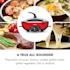 Szechuan Hot Pot and Grill Plate 5l Vol. 1350 W, 600 W Red