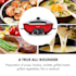 Szechuan hot pot -pata ja grillilevy 5 l tilavuus 1350 W, 600 W punainen