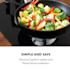 Trifecta Domino, plinska ploča za kuhanje, 2 trokutasta plamenika, staklokeramika