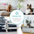 Balu, kutyafekhely, párna kutya részére, mosható, ortopéd, csúszásgátló, légáteresztő memóriahab, S méret (72 x 8 x 50 cm)
