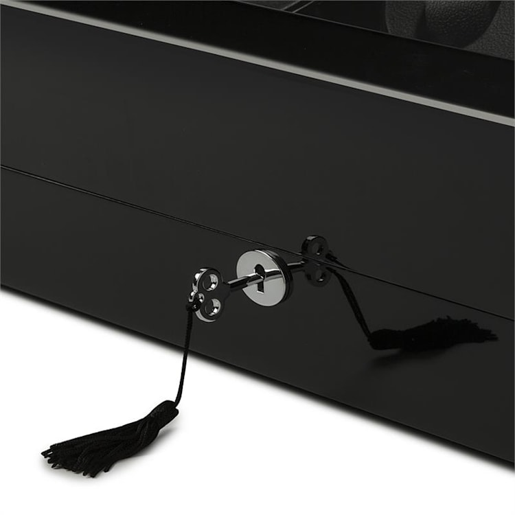 Old Marshall, naťahovač na hodinky, pohyblivá vitrína, 13 hodiniek, čierny čierna / 13 hodiniek