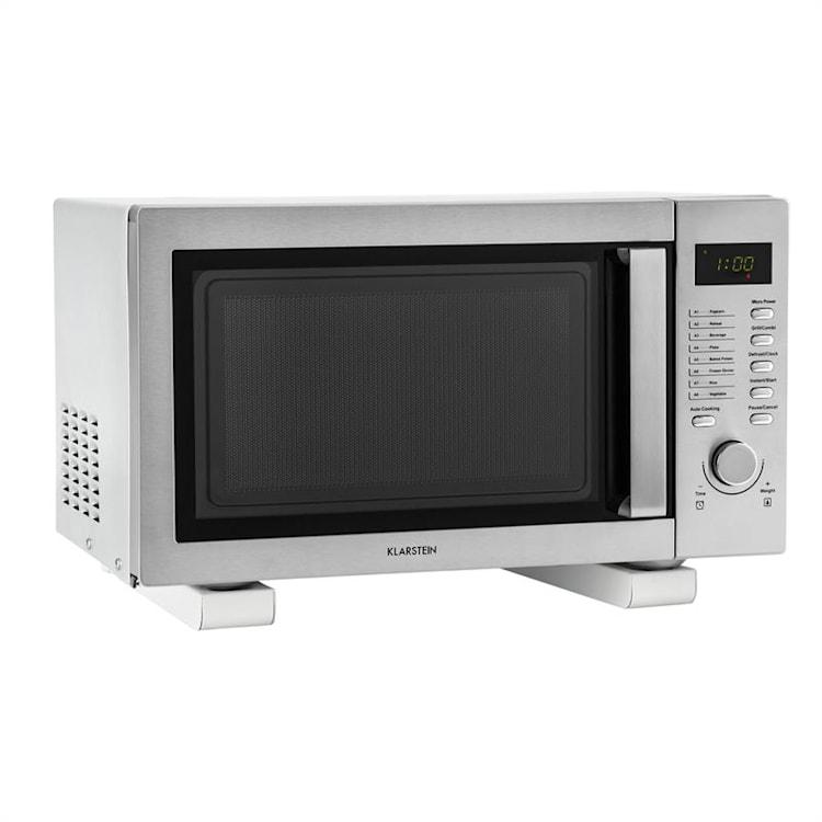 Support de micro-onde 35kg - blanc Blanc