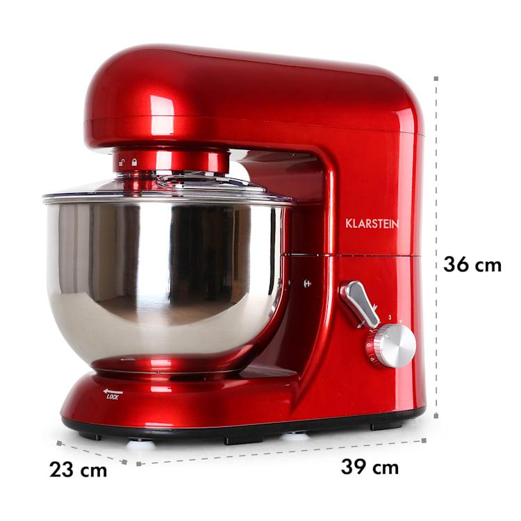 Bella, robotgép, 1300 W, 2,7 PS, 5 literes Piros