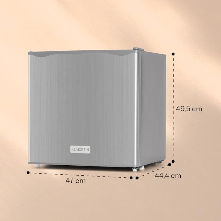 Klarstein CO2-50L1-SG, 40 l, nerez, A+, priehradka na ľad