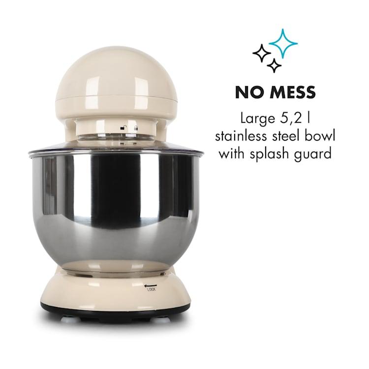 Bella Kitchen Machine Stand Mixer 2000W 5 Litre Creme