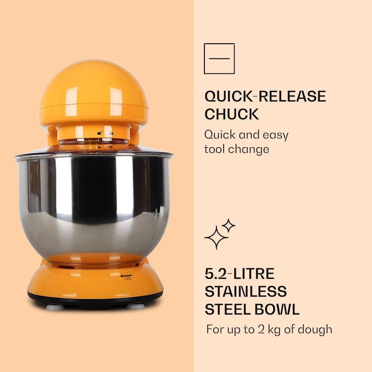 Bella, robotgép, 2000 W, 2,7 PS, 5 literes Narancs