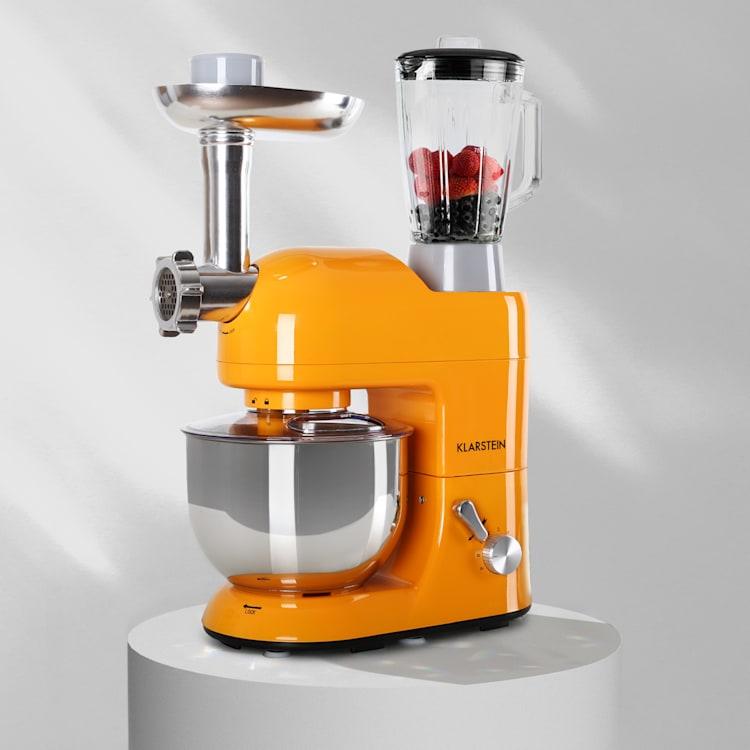 Lucia Robot ménager 3-en-1 2000 W / 2,7 ch  5 l Acier inoxydable sans BPA Orange