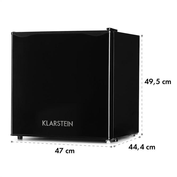 Klarstein, chladnička, 40 l, A+, s mrazničkou, čierna