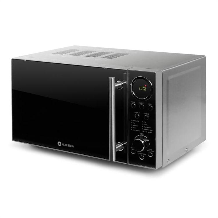 Klarstein Luminance Prime mikrohullámú sütő grillel,700W,20l konzol nélkül | 20 Ltr
